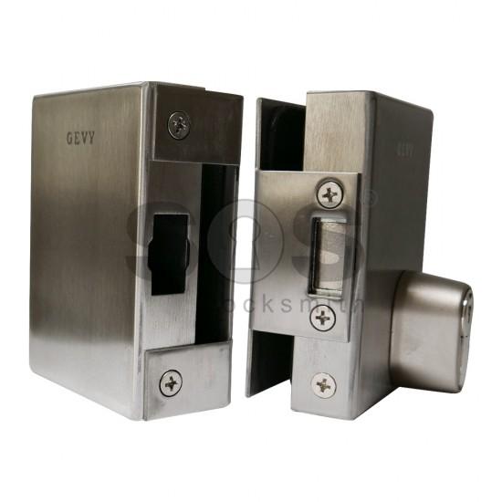 Патронна брава за стъклена витрина GEVY