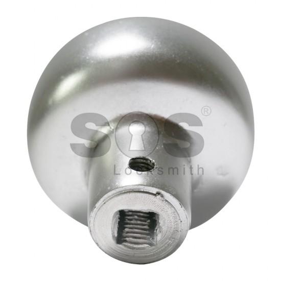 Дръжка за брава Gabry с топка и розетка - месинг