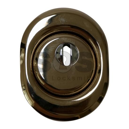 Златна розетка за брава