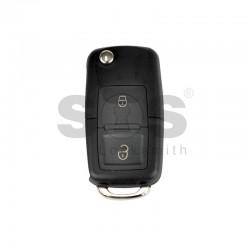 Универсално дистанционно  за автомобил с 3 бутона - сгъваем ключ B01-2