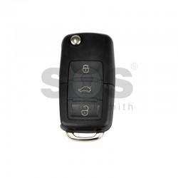 Универсално дистанционно за автомобил с 3 бутона - сгъваем ключ B01-3