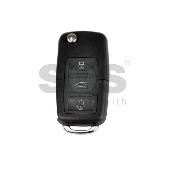Универсално дистанционно с ключ за автомобил B01-3