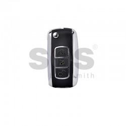 Универсално дистанционно за автомобил с 4 бутона - сгъваем ключ B07