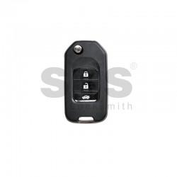 Универсално дистанционно за автомобил с 3 бутона - сгъваем ключ B10-3