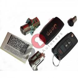 Комплект за Jeep Честота 434 MHz Транспондер 8E Sokymat